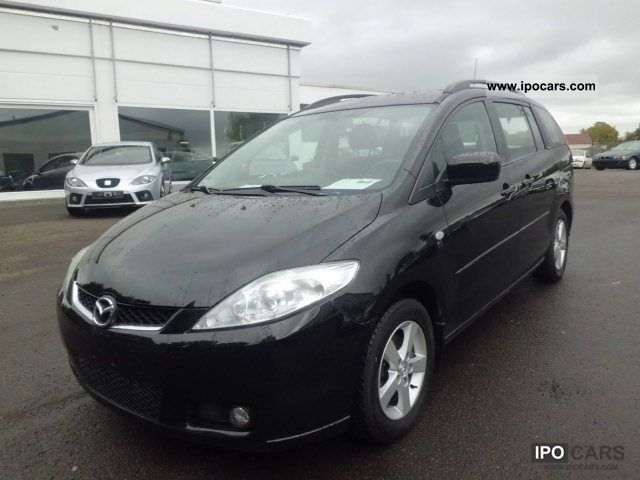2007 mazda 5 2 0 cd dpf 7 sitzer exclusive ssd 6th gear car photo and specs. Black Bedroom Furniture Sets. Home Design Ideas