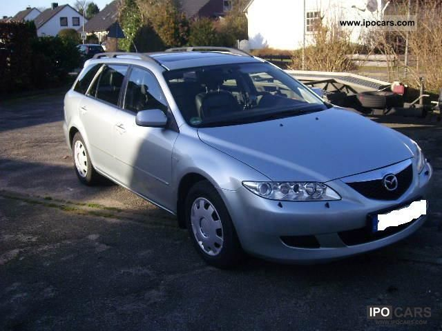 2002 mazda 6 sport kombi 2 3 exclusive car photo and specs. Black Bedroom Furniture Sets. Home Design Ideas