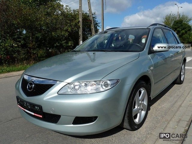 2003 Mazda  * 6 * BEZWYPADKOWA bardzo ZADBANA * RATY * ZAMIANA * Estate Car Used vehicle photo