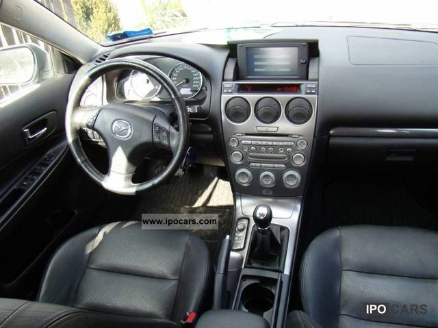 2004 Mazda 6 Navi Skora Webasto Ful Car Photo And