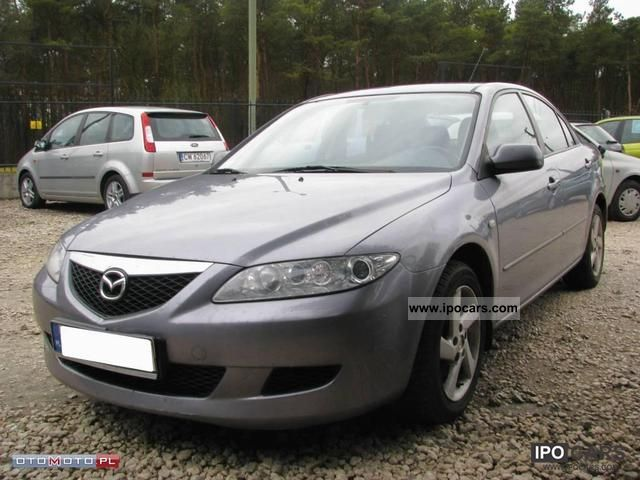 2004 Mazda  6 2.0 CITD 136km! 2005R OKAZJA! Limousine Used vehicle photo