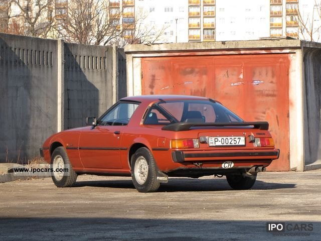 Mazda  RX-7 1979 Vintage, Classic and Old Cars photo