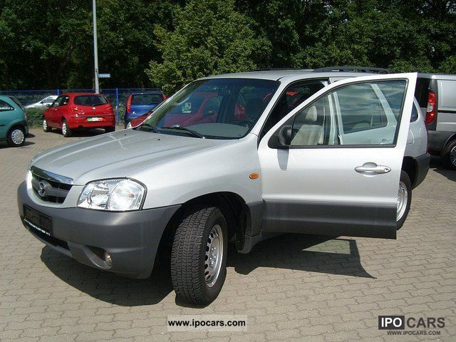 2002 mazda tribute 2 0 4x4 comfort car photo and specs. Black Bedroom Furniture Sets. Home Design Ideas