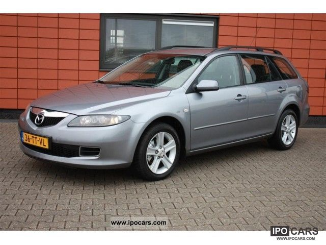 2007 mazda 6 sport touring break 2 0 citd car photo and specs. Black Bedroom Furniture Sets. Home Design Ideas
