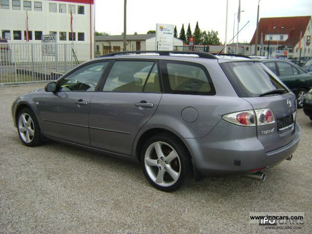 2003 mazda 6 sport kombi 2 3 lpg gas system car photo and specs. Black Bedroom Furniture Sets. Home Design Ideas