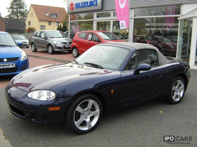 2003 mazda mx 5 convertible car photo and specs. Black Bedroom Furniture Sets. Home Design Ideas