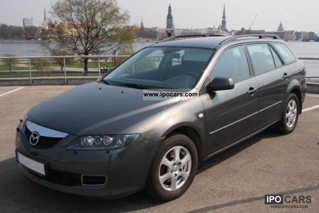 2006 mazda 6 sport kombi 1 8 comfort car photo and specs. Black Bedroom Furniture Sets. Home Design Ideas