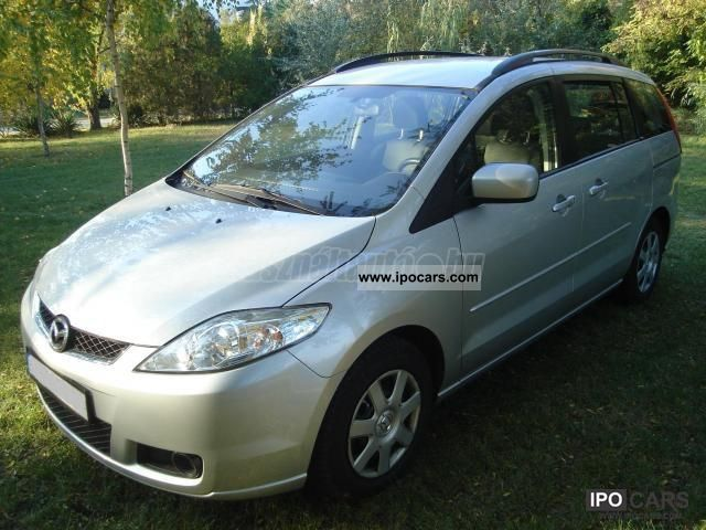 2008 mazda 5 2 0 cd dpf business car photo and specs. Black Bedroom Furniture Sets. Home Design Ideas