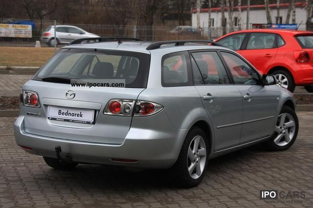 2005 mazda 6 kombi 2 0td car photo and specs. Black Bedroom Furniture Sets. Home Design Ideas