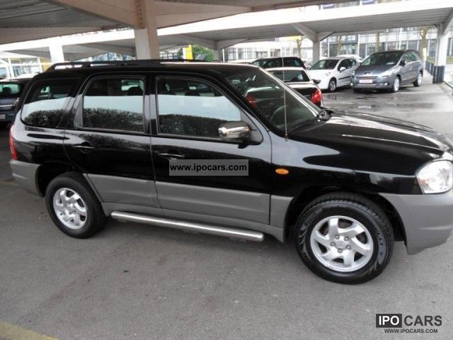 2004 mazda tribute 2 0 4x4 comfort car photo and specs. Black Bedroom Furniture Sets. Home Design Ideas