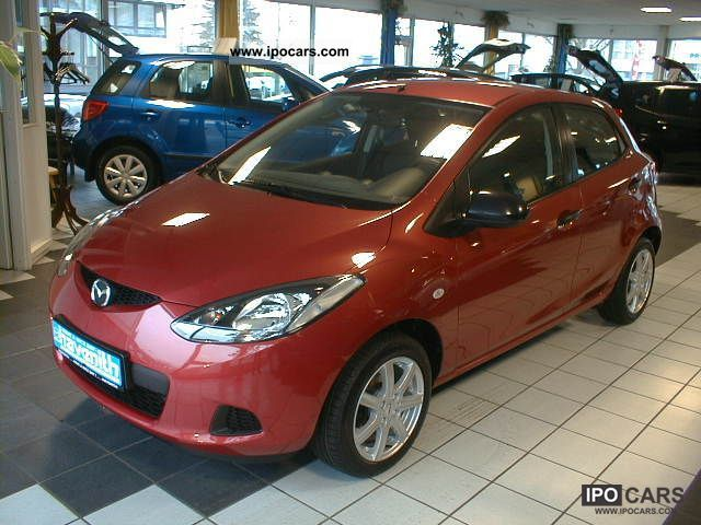 2007 Mazda  * 2 to 1.3 * Redberry Euro4 * 5Türen * 1.Hand * LM-WHEELS Small Car Used vehicle photo