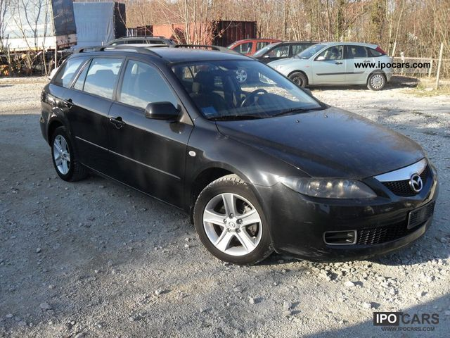 2007 mazda 6 sport kombi 2 0 cd dpf exclusive top condition car photo and specs. Black Bedroom Furniture Sets. Home Design Ideas