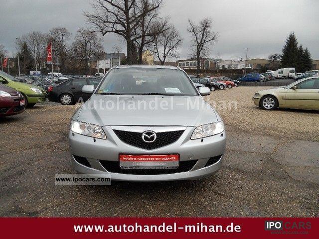 2005 Mazda  6 Sport 3.2 Top 1.Hand Navi Xenon PDC Limousine Used vehicle photo