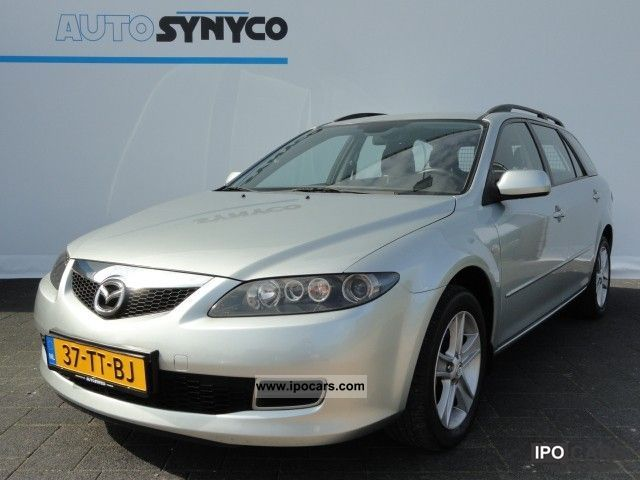 2007 Mazda 6 2.0 CITD 121 pk! Sports Break Touring/ECC/16 inc Estate ...