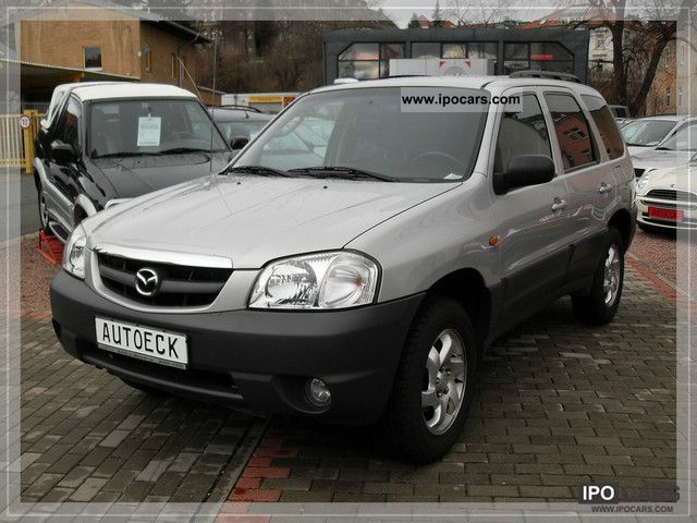 2003 Mazda Tribute 4x4 Adventure Gas System Car Photo