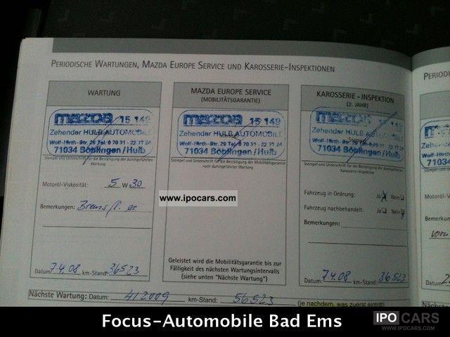 2006 Mazda 3 Facelift Climate Control Warranty Service