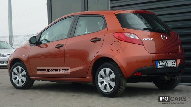 2010 mazda 2 1 3 climate 27 tys km car photo and specs. Black Bedroom Furniture Sets. Home Design Ideas