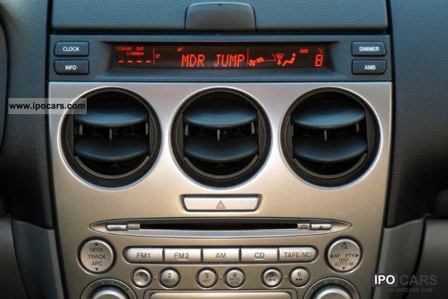 2003 Mazda 6 Combi 2 0 Exclusive CD changer heater - Car