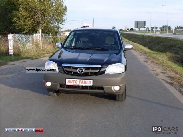 Mazda  Tribute 4X4 TERENOWY GAZ SEKWENCJA 2004 Liquefied Petroleum Gas Cars (LPG, GPL, propane) photo