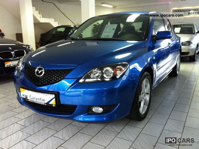 2005 mazda 3 1.6 sport aut. exclusive - car photo and specs