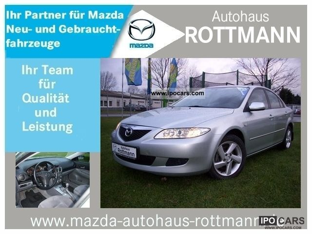 2002 Mazda  6, Exclusive (5-door.) Glaschiebedach, 1.Hand Limousine Used vehicle photo