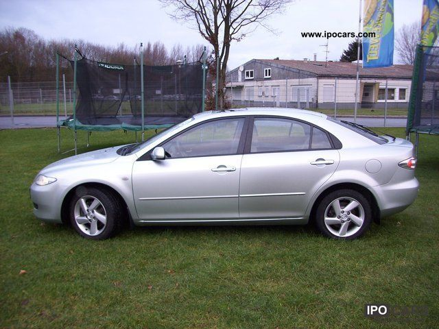 2002 mazda 6 exclusive 5 door glaschiebedach 1 hand car photo and specs. Black Bedroom Furniture Sets. Home Design Ideas