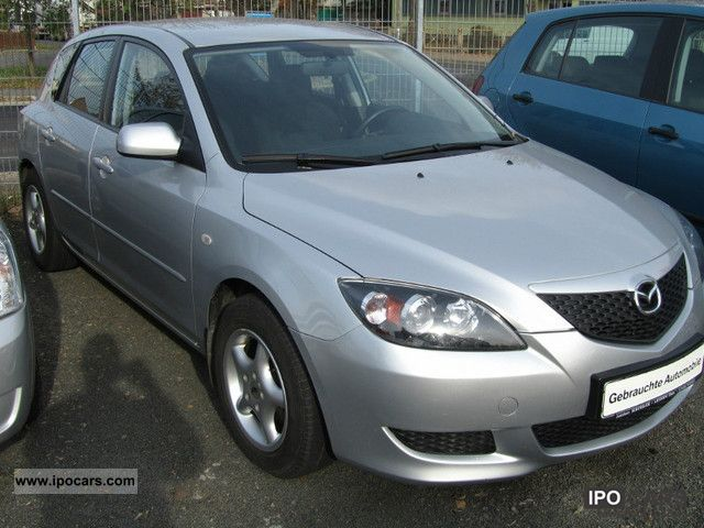 2005 mazda 3 1 6 comfort car photo and specs. Black Bedroom Furniture Sets. Home Design Ideas