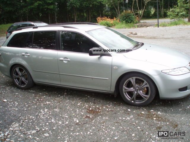 2004 Mazda 6 Combi Sport Aussttaung Car Photo And Specs
