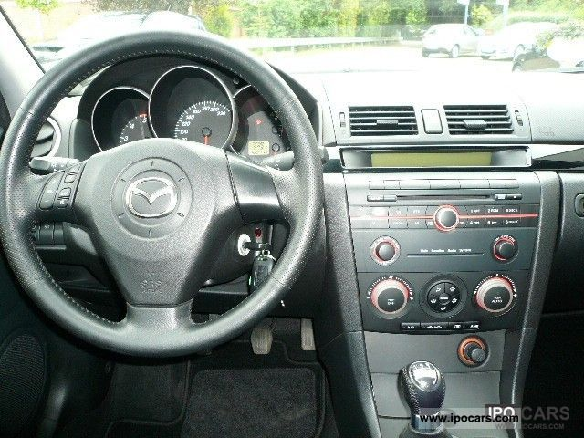 2005 mazda 3 notchback 1.6l 109hp and mz-cd diesel partike - car