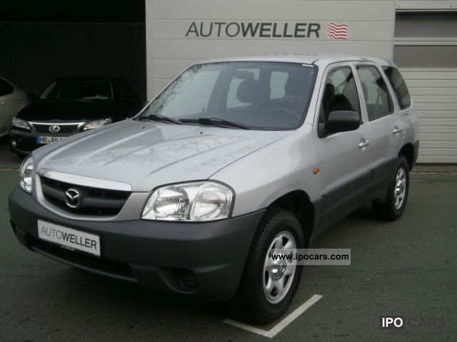 2004 mazda tribute 4x4 2 0 comfort car photo and specs. Black Bedroom Furniture Sets. Home Design Ideas