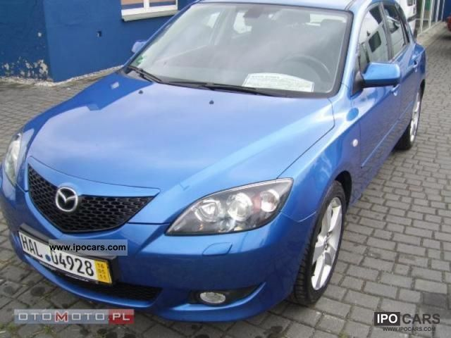 Mazda  3 2.0 16V GAZ SEKWENCYJNY 2005 Liquefied Petroleum Gas Cars (LPG, GPL, propane) photo