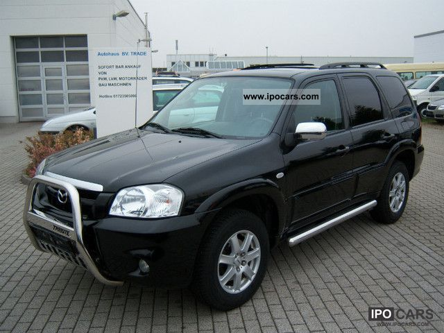 Mazda  Exclusive Tribute 4x4 PETROL / LPG! 1.HAND! 2006 Liquefied Petroleum Gas Cars (LPG, GPL, propane) photo