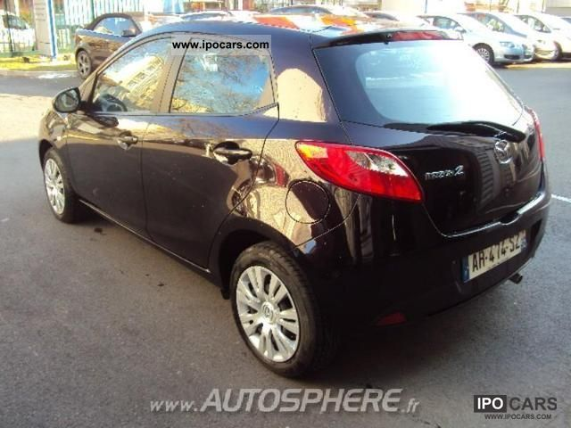 2010 mazda 2 1 3 mzr elegance 5p car photo and specs. Black Bedroom Furniture Sets. Home Design Ideas