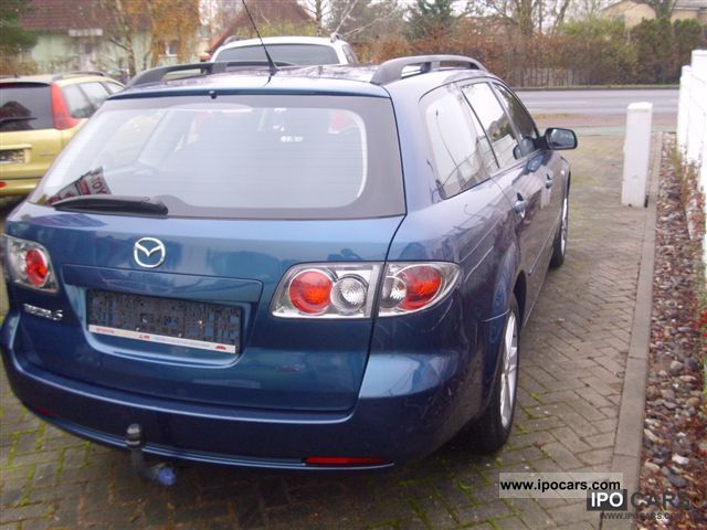 2006 mazda 6 sport kombi 8 1 car photo and specs. Black Bedroom Furniture Sets. Home Design Ideas