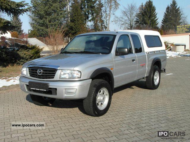 2003 Mazda B 2500 Freestyle Cab 4x4 Hardtop Ahk Car