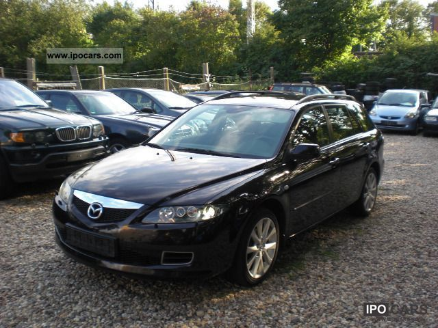 2006 mazda 6 sport kombi 2 3 aut active plus xenon. Black Bedroom Furniture Sets. Home Design Ideas