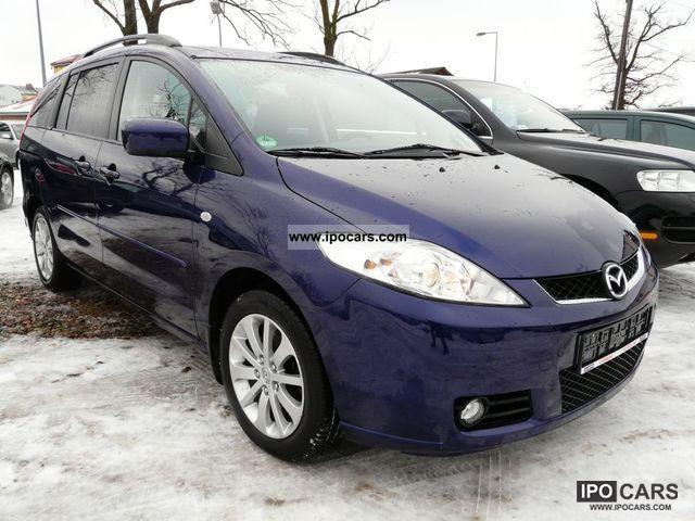 2007 Mazda  5 BENZYNA Z GAZEM, MAŁY PRZEBIEG, NOWY MODEL Van / Minibus Used vehicle photo