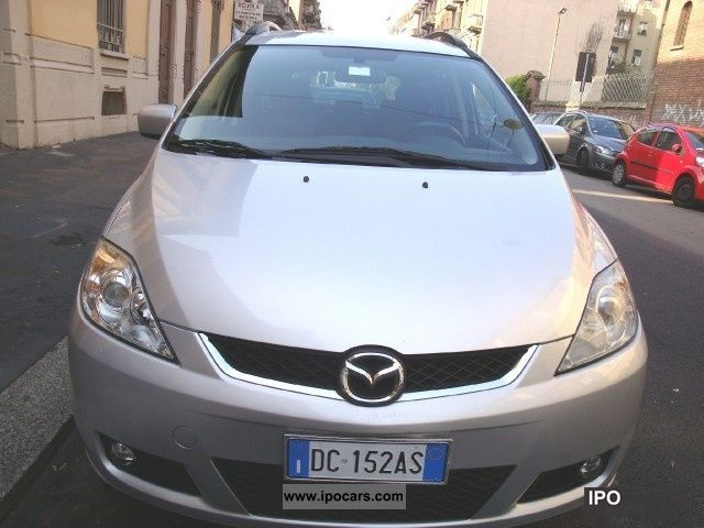 2006 mazda 5 2 0 cd 16v 143cv fap 7p car photo and specs. Black Bedroom Furniture Sets. Home Design Ideas