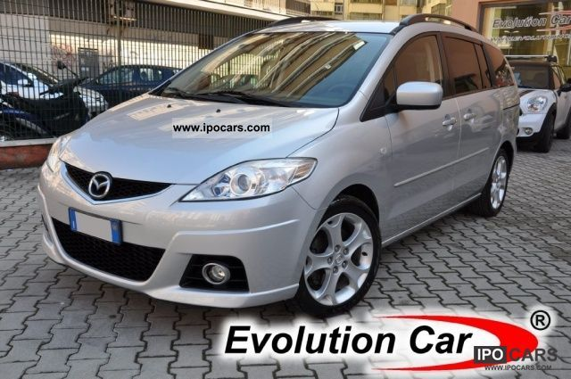 2008 mazda 5 2 0 16v 143 cv fap cd extra navi 7posti 17 6cd car photo and specs. Black Bedroom Furniture Sets. Home Design Ideas