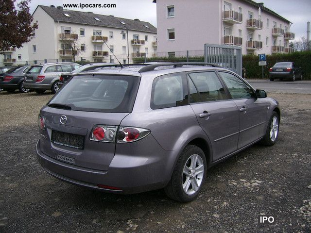 2006 Mazda 6 2.0 D Estate Car Used vehicle photo 3