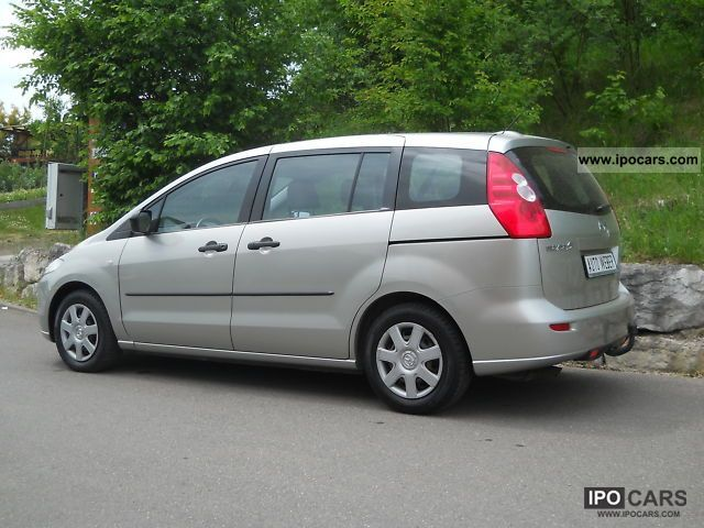 2006 mazda 5 2 0 d comfort car photo and specs. Black Bedroom Furniture Sets. Home Design Ideas
