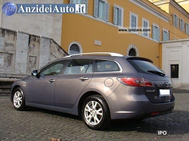 2008 mazda 6 2 0 cd 16v 140cv sw wagon experience car. Black Bedroom Furniture Sets. Home Design Ideas