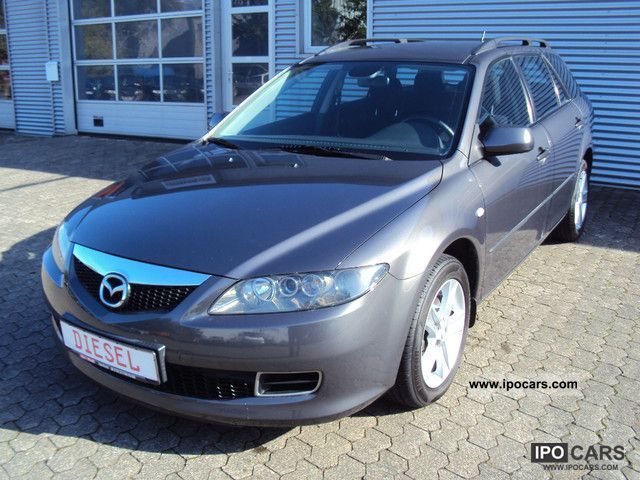2006 mazda 6 sport kombi 2 0 dpf exclusive with heater. Black Bedroom Furniture Sets. Home Design Ideas