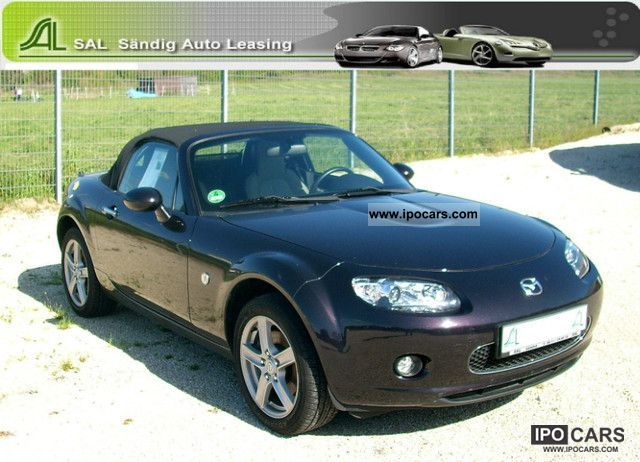 2007 mazda mx 5 1 8 mzr mithra car photo and specs. Black Bedroom Furniture Sets. Home Design Ideas