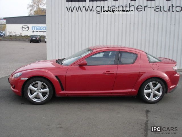 2008 mazda rx 8 revolution leather bose car photo and specs. Black Bedroom Furniture Sets. Home Design Ideas