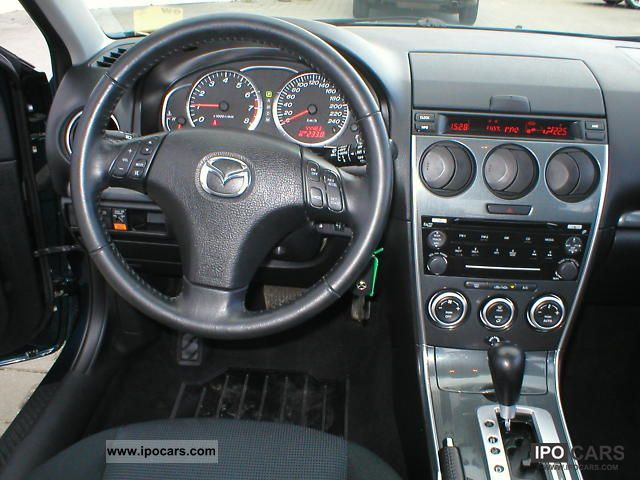 Mazda 6 automatic. Best photos and information of modification.