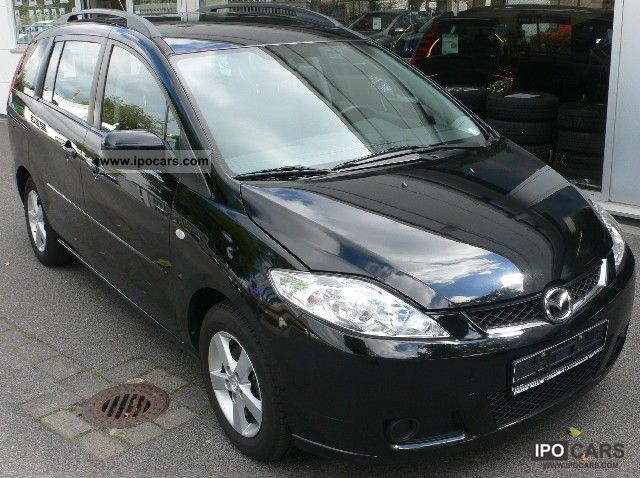 2006 mazda 5 m5 van car photo and specs. Black Bedroom Furniture Sets. Home Design Ideas
