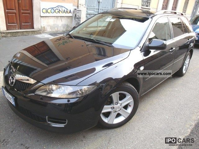 2006 mazda 6 2 0 cd 16v 143cv fap wagon l b car photo and specs. Black Bedroom Furniture Sets. Home Design Ideas