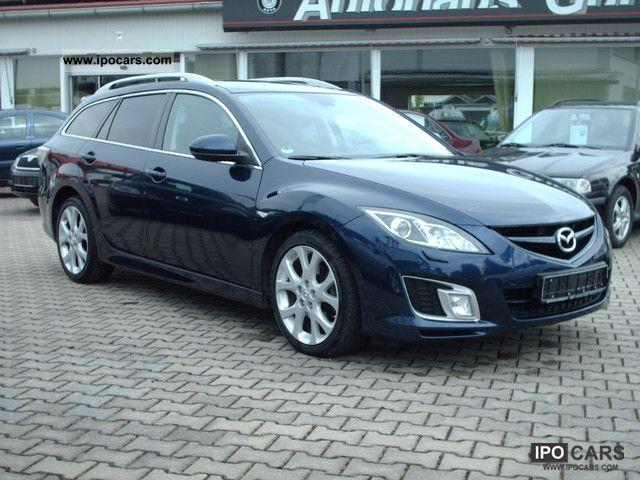 2009 Mazda  6 Sport Kombi 2.2 CD DPF Dynamic / navigation system, leather Estate Car Used vehicle photo