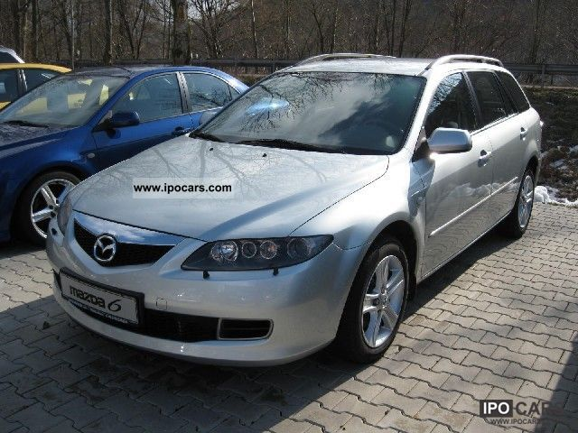 2006 mazda 6 kombi 2 0 cd sport top 105 kw top car photo. Black Bedroom Furniture Sets. Home Design Ideas
